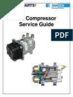 Sanden Compressor Service Guide