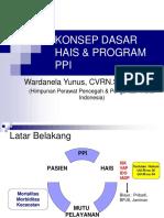Konsep Dasar Hais & Program Ppi Ipcn Lanjut 111111