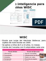 WISC IV  exposición
