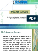 Interés Simple-Clase 5 y 6