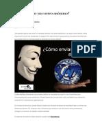 Cómo Enviar Un Correo Anónimo
