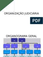 ORGANIZAÇÃO JUDICIÁRIA