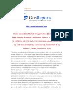 Diesel Generators Market by Application