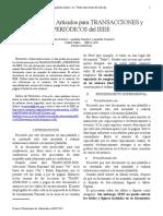 Formato Articulos IEEE 2016