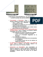 9 y 10 de Agosto 2014. Contenido Programã-tico Del Taller de Maracaibo