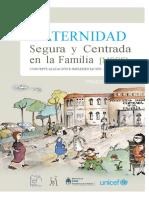 MATERNIDAD SEGURA CENTRADA EN LA FAMILIA