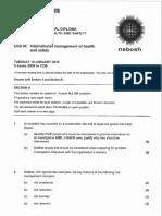 2016 01 IDIP Unit a Past Paper