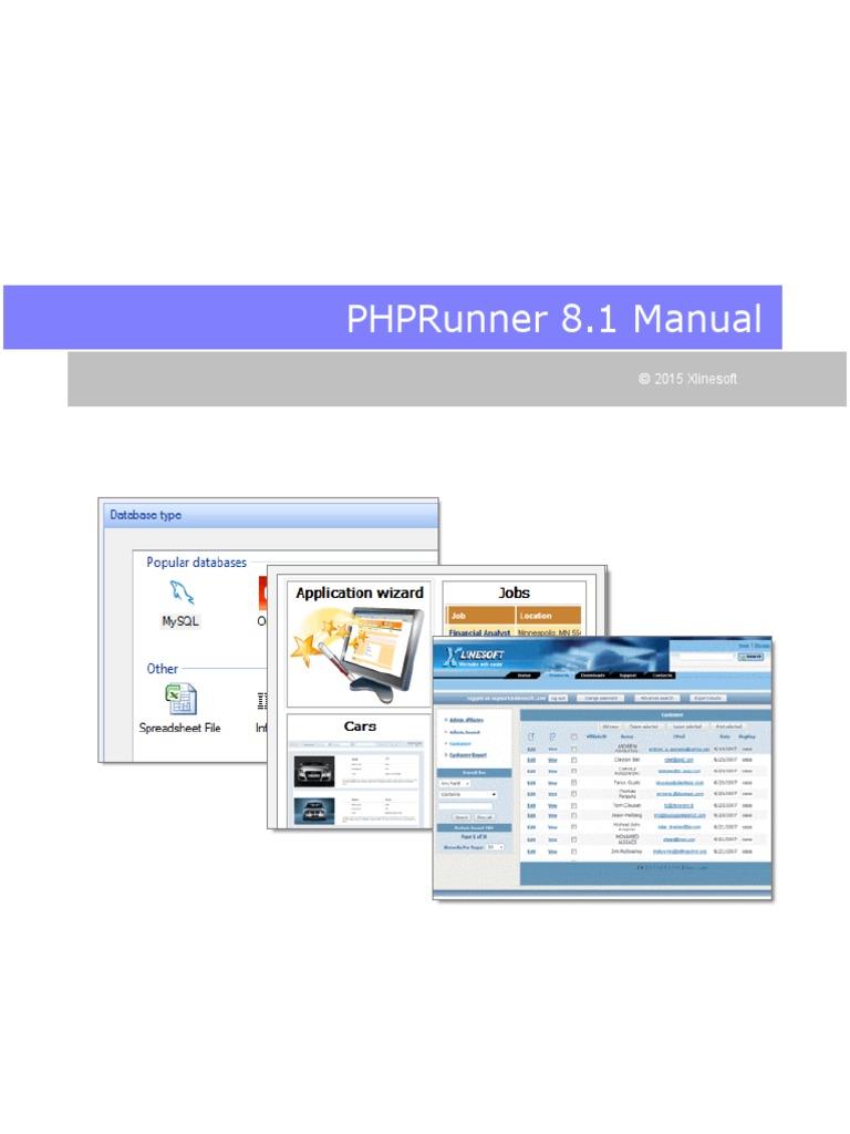 Manual Php 8 1   Sql   Databases
