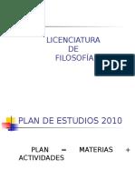 PLAN de FILOSOFIA Presentacin en Ppt
