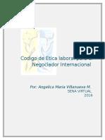 Codigo de Etica Laboral Para El Negociador Internacional1