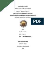 PPMA_Trustha Dwiratna_Tugas 3_Perancangan Atau Pembuatan Alat Pengolah Minyak Atsiri