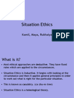 Situation Ethics Students
