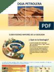Subdivisiones de la Geología Petrolera