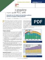UOP Maximize Propylene From Your FCC Unit Paper