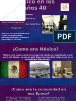 México en Los Años 40