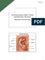 Farmako Kyy - Drug Used and Otovestibular Disorder