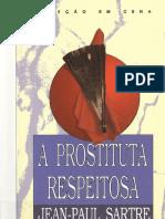A Prostituta Respeitosa - Jean-Paul Sartre