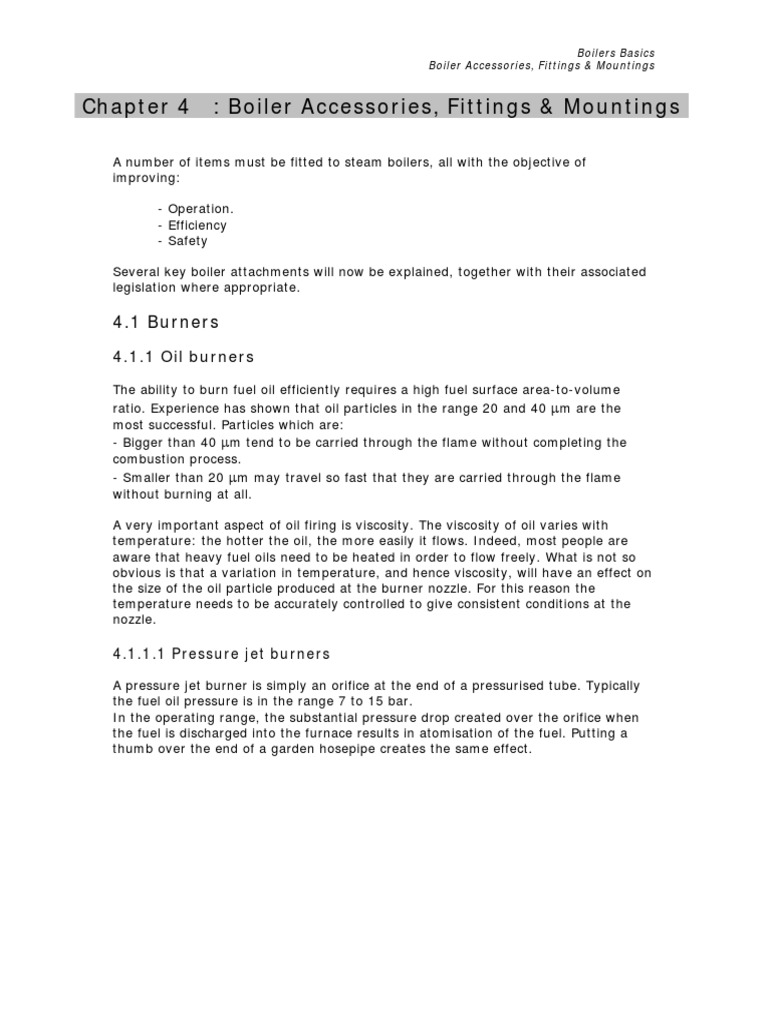 Chapter 5-Boiler Accessories   Boiler   Valve