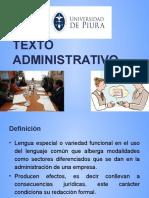 Sesión 3 Texto Administrativo y Sus Clases