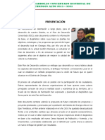 Pdc Chongos Alto 2013 -2021