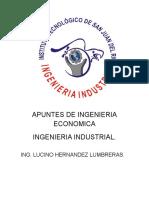 Ingenieria Economica Plan 2010