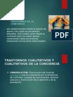 Psicopatología - Psicopatologias de La Conciencia