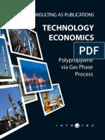 Technology Economics Polypropylene via Gas Phase Process