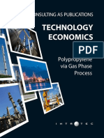 Technology Economics Polypropylene via Gas Phase Process