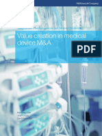 Value Creation in Medical Device