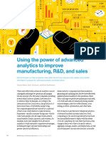 Using the Power of Advanced Analytics