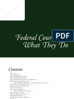 the federal courts what they do