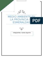 Medio Ambiente Esmeraldas