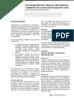 Reglamento FARUSAC Normativo de las asignaturas del rea de conocimiento de urbanismo y ambiente.pdf