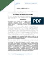 DECRETO 3019 DIC 27 de 2013 Modificacion Grupo 3