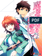 Mahouka Koukou No Rettousei - Volume 03 - Nine Schools Competition (I)