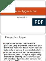 Penilaian Apgar Score