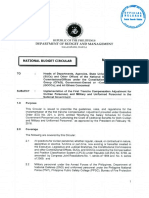 562 - Implementation of the First Tranche Compensation Adjustment for Civilian Personnel, And Military and Uniformed Personnel in the National Government