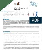 Ficha Paciente Ergometria