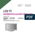 LG 42LH50 Schematic