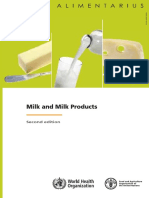 Codex Standards for Milk and Milk Products