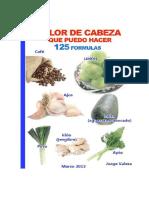 [eBook]Dolor de Cabeza - Tratamiento Natural Alimenticio