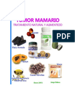 [eBook]Tumor Mamario - 188 Soluciones Naturales Tratamiento Natural Alimenticio