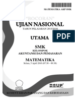 Bocoran Soal UN Matematika SMK AKP 2016 [Pak-Anang.blogspot.com]