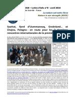 NIOS - Lettre d'info n°8 - La nature est notre force - (Erasmus+ 2015-2018)