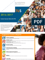 CTU Training Solutions Prospectus 2016/ 2017