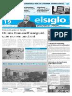 Edicion Impresa El Siglo 19-04-2016