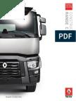 Renault Trucks c Construction Range Uk United Kingdom 2015