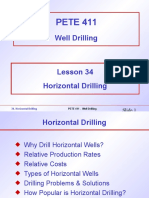 34. Horizontal Drilling