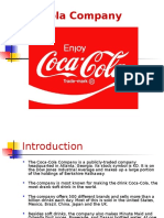 quickly Learn about Coca Cola Company