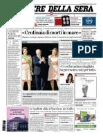 Corriere Della Sera - 19 Aprile 2016
